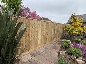 Garden fencing Torquay